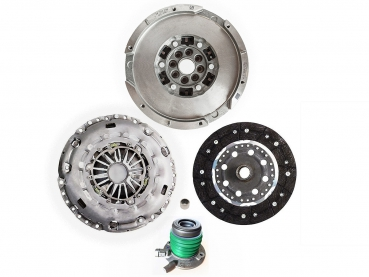 Complete set: clutch, flywheel, slave cylinder, bearing